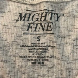 Mighty Fine Tops - NWT Mighty Fine Tank Top